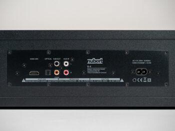 Anschlüsse der Nubert nuBox AS-225