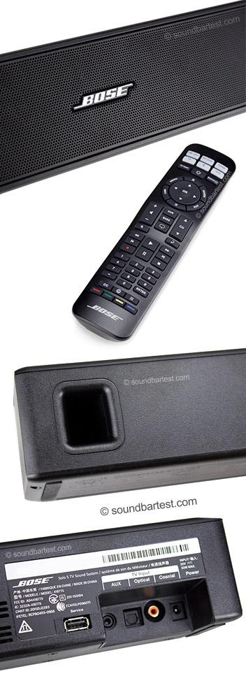 bose solo 5 tv sound system test daten bewertung soundbar. Black Bedroom Furniture Sets. Home Design Ideas