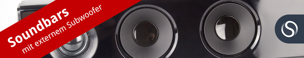 Bild zu Soundbars mit externem Subwoofer