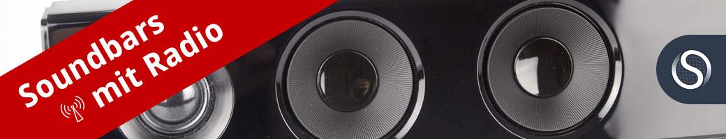 Bild zu Soundbars mit Radio